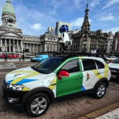 Google Street View Argentina ya está disponible