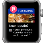 Foursquare para Apple Watch Notificaciones 150x150  Nuevo Foursquare para iPad, estos chicos no paran